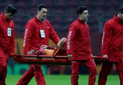 Galatasarayda Hakan Balta şoku