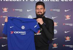 Chelsea, Olivier Giroudyu transfer etti