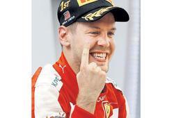 Vettel Çipras'a karşı