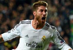 Sergio Ramos golleriyle forvetleri kıskandırıyor