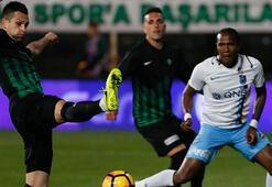 Akhisar Belediyespor - Trabzonspor: 1-3 (İşte maçın özeti)