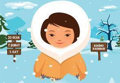 Yarı yıl tatili etkinliği: Eskimo Kasabası