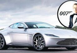James Bond'tan satılık, 'az' kullanılmış oto
