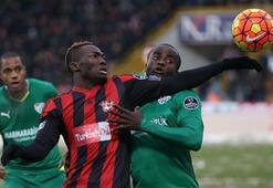 Gaziantepspor-Bursaspor: 2-3