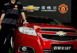 Chevrolet, Manchester United'ın Resmi Sponsoru oldu