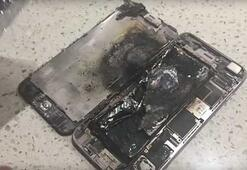 iPhone 6 Plus sahibinin elinde alev aldı