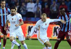 Trabzonspor - Galatasaray maç sonucu 2-0 (İşte maçın özeti)