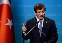 Kurds should be at table, Davutoğlu says