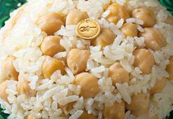 Fatih'in mutfağından altınlı nohut-pilav