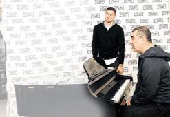 Burak'tan müzikli prova