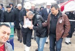 Rüzgar'ın çarptığı şehit polis toprağa verildi