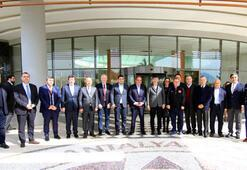 TFF heyeti, Antalyasporun tesislerini ziyaret etti