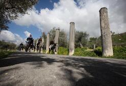 Filistinde eşek sırtında tarih yolculuğu
