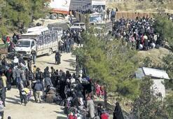 Die Turkmenen könnten sich nach Idlip zurückziehen