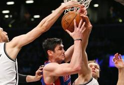 Detroit Pistons, Brooklyn Netsi 105-100 yendi