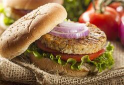Karnabahar ve patates köfteli hamburger tarifi (Vegan)