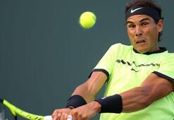 Rafael Nadal bininci maçına çıktı