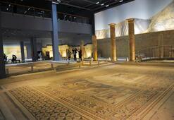 Zeugma Mozaik Müzesi ziyaretçilerini bekliyor
