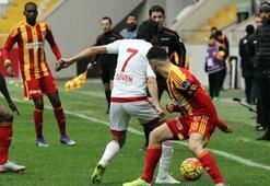 Kayserispor-Mersin İdman Yurdu: 0-1