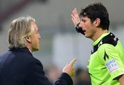 Manciniden İtalyan hakemlere eleştiri