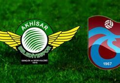 Akhisar Belediyespor Trabzonspor maçı ne zaman saat kaçta, hangi kanalda