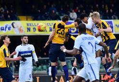 Hellas Verona - Inter maçından kareler
