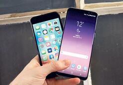 Galaxy S8 mi,  iPhone 7 mi