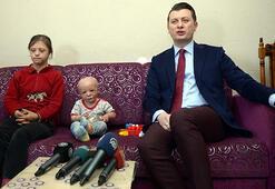 2 yaşındaki Ahmetin yaşaması 170 bin liranın bulunmasına bağlı