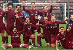 Trabzonspor U21 takımı Fenerbahçeyi farklı geçti