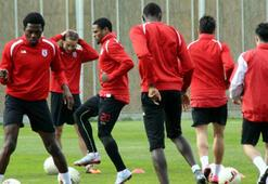 Samsunspor, Şanlıurfaspor maçı hazırlıklarını tamamladı