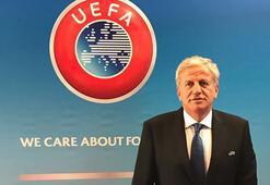 Servet Yardımcı UEFA Yönetim Kuruluna seçildi