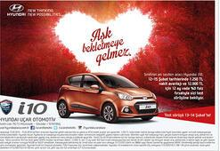 Hyundaidan Sevgililer gününe özel fırsat