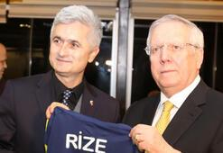 Aziz Yıldırım: Rizelilerin çoğu Fenerbahçelidir