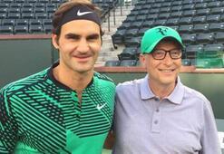 Federer'in yeni partneri Bill Gates