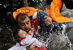 Yunanistanın nüfusu kadar Suriyeli evlerini terk etti
