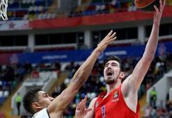 THY Avrupa Liginde CSKAnın liderliği sürüyor
