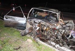 Gece yarısı üst üste iki kaza Çok sayıda ölü ve yaralı var