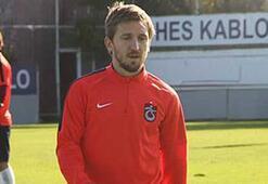 Trabzonsporda Marko Marin antrenmanı terk etti