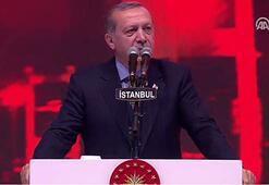 Cumhurbaşkanı Erdoğan: Kim kiminle yürüyorsa onunla beraberdir