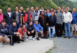 Trabzonsporlu basketbolcular Ayder Yaylasını gezdi