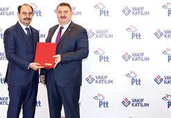 PTT ve Vakıf Katılım para transfer birliği