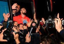 Trabzonspora coşkulu karşılama Onurdan taraftarlara...