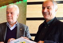 Eski İçişleri Bakanı Efkan Aladan Bursaspor'a ziyaret