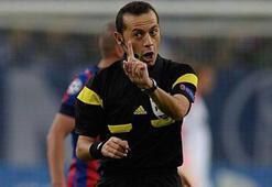 Cüneyt Çakırın yönettiği maçta gol yok