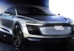 Karşınızda Audinin elektrikli SUV konsepti E-Tron Sportback
