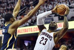 Cavaliers, Pacersı 117-111 yenerek seride 2-0 öne geçti