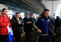Pereira Lokomotif Moskova maçının onbirini oluşturdu