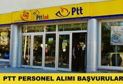 PTT 1.750 personel alacak PTT başvurusu nasıl yapılır