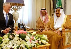 ABD Savunma Bakanı Mattis Suudi Arabistanda