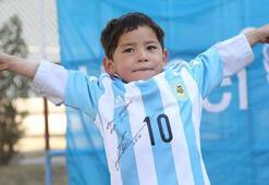 Murtazanın hayali gerçekleşti Messi...